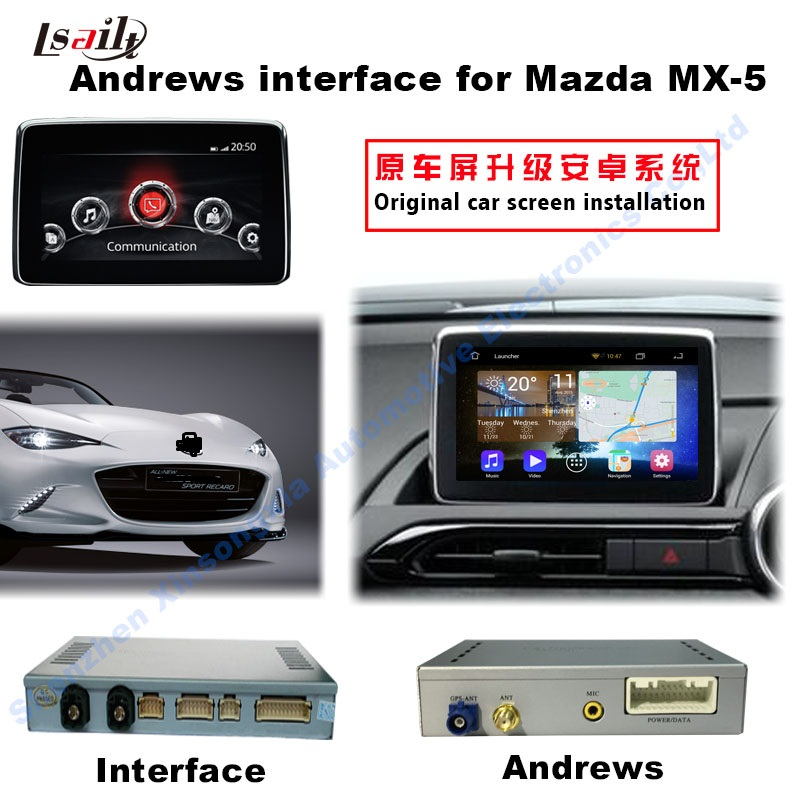 Car Multimedia Android Navigation Interface Box For 2014