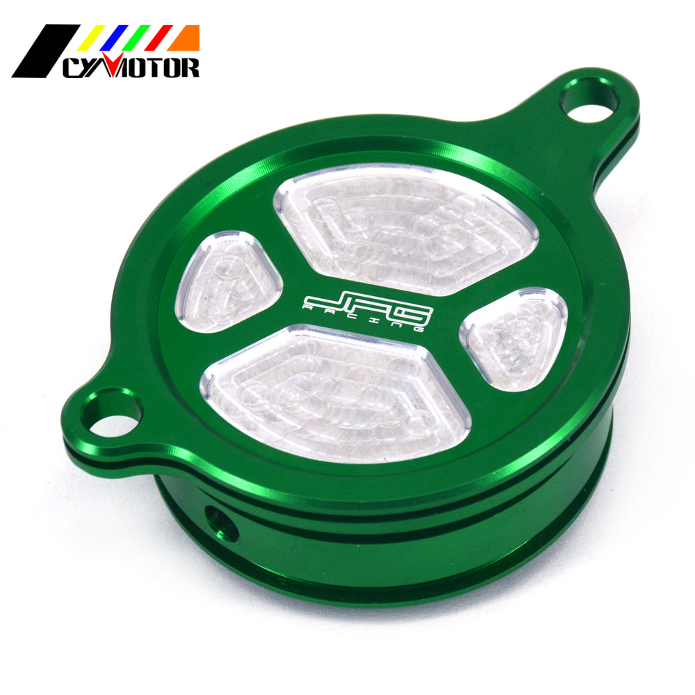 Motorcycle CNC Aluminum Cleaner Oil Filter Cover Set For KAWASAKI KX450F KX 450 F 450F 2006-2015 KLX450R KLX 450R R 2008-2015