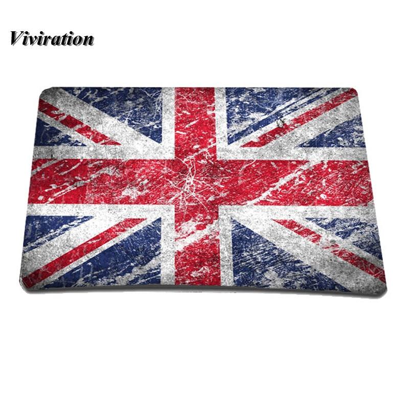 2017 Hot Sale British Flag Mouse Pad Anti slip Mousepad Slim Silicone Mice Pad Soft Mat