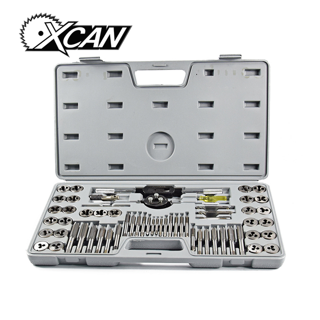 high quality 60pc metric tap and die set aggregate tapu0026die hand tools carbon steel wrench sets