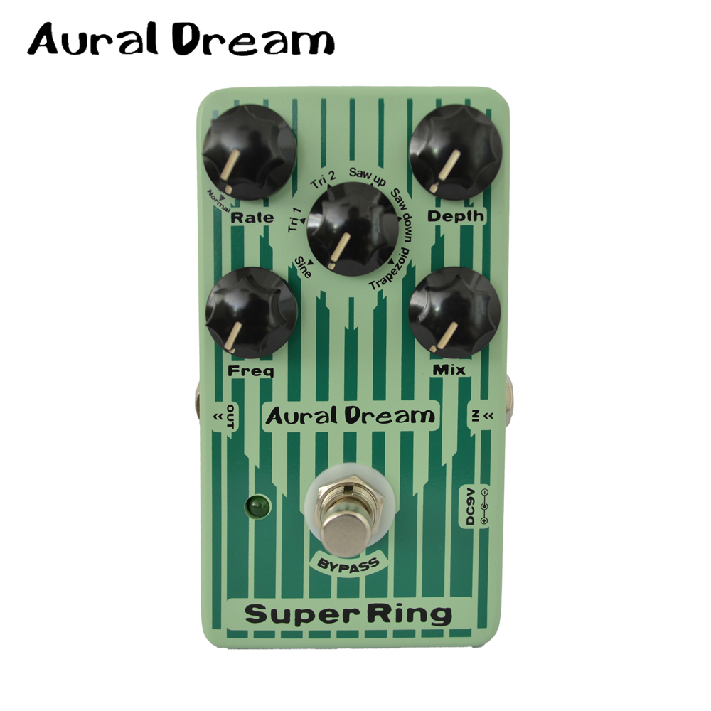 aural dream super ring 6 different waveforms digital guitar effect pedal with vibrato function. Black Bedroom Furniture Sets. Home Design Ideas
