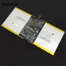 Wearson C12P1302 Battery For Asus MemoPad ME302KL K005 Battery 6560mAh Free Shipping With Tracking Number