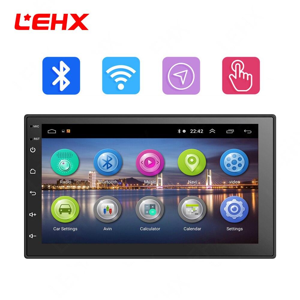 LEHX 7 ''автомобильный Android 8,0 автомобильный Радио автомобильный gps навигация Мультимедиа Видео плеер радио для Volkswagen Nissan hyundai Kia toyata CR-V