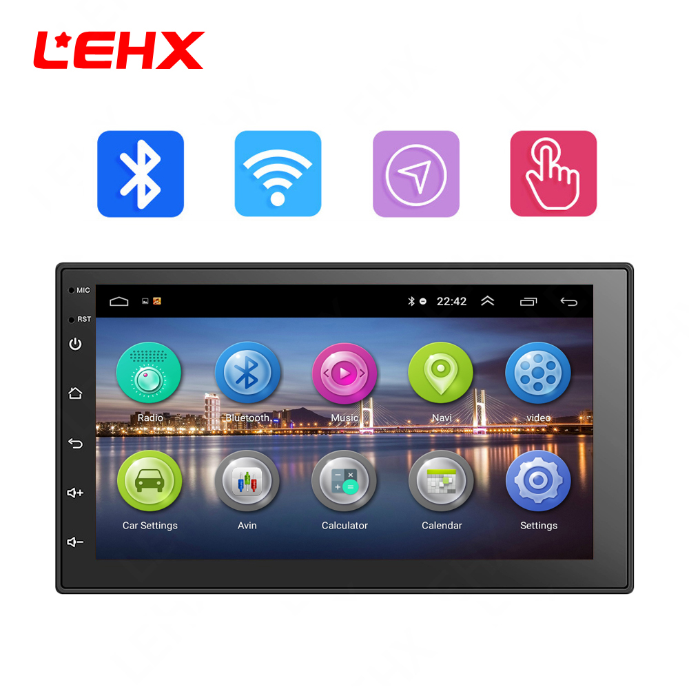 LEHX 7''Car Android 8.0 Auto Radio Auto GPS Navigation Multimedia Video Player Radio für Volkswagen Nissan Hyundai Kia toyata CR-V