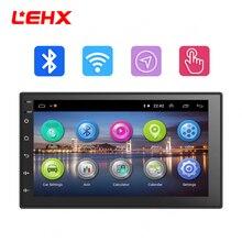 LEHX 7 »автомобильный Android 8,1 автомобильный Радио автомобильный gps навигация Мультимедиа Видео плеер радио для Volkswagen Nissan hyundai Kia toyata CR-V