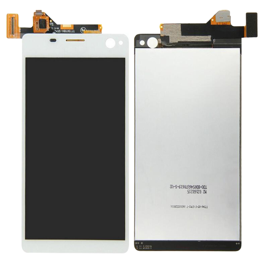 Sony Xperia C4 E5303 E5306 E5333 E5343 E5353 LCD Display Digitizer Touch Screen Assembly Parts+Frame+Tools For