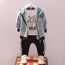 Vêtements dautomne à capuche pour bébé garçon, tenue de Sport dautomne pour garçons de 1 2 3 4 5 ans