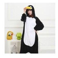 Penguin New Winter Anime Pajamas Adult Animal Black Penguin Cosplay Pajamas Sleepwear Costume Unisex