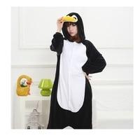 Penguin New Winter Anime Pajamas Adult Animal Black Penguin Cosplay Pajamas Sleepwear Costume Unisex Women Warm Sleepwear