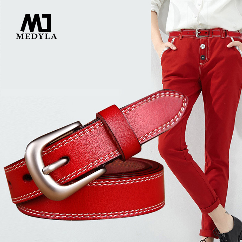2017 new Women's strap genuine leather c