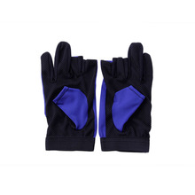 1Pair Waterproof 3 Cut Finger Anti-slip Non-Slip Fishing Rod Gloves Outdoor Sport Fishing Accessories