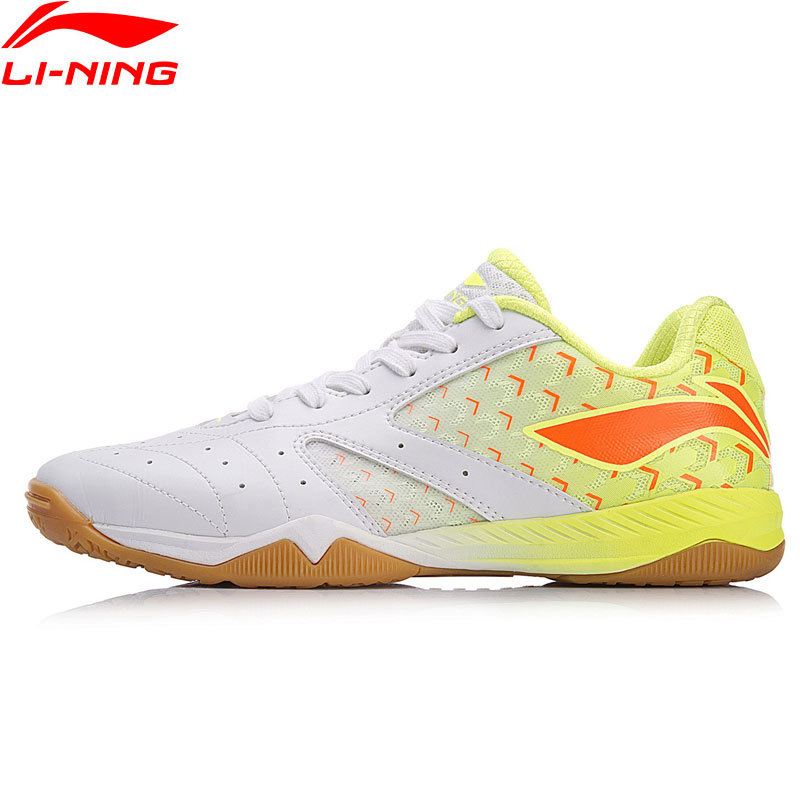Li Ning Для женщин AURORA Настольный Теннис Спортивная обувь национальная спонсором команды подкладка Профессиональный обувь мягкий удобный кро