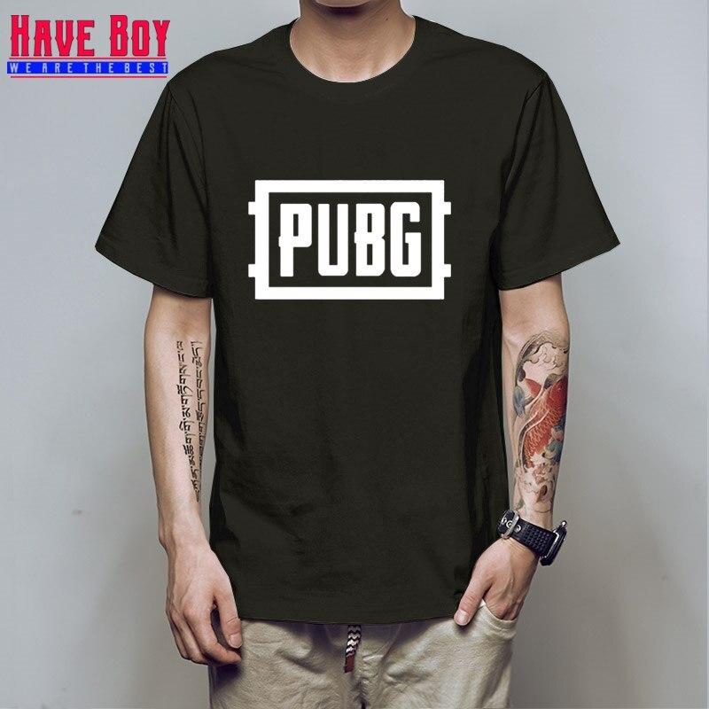font b PUBG b font PLAYER UNKNOWN S BATTLEGROUNDS t shirt game fans gift boy