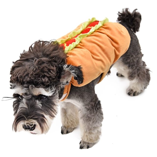 Funny Made Pet Cosplay Food Clothes Dog Vest Cotton Lifelike
