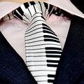 Корейский досуг мода личность фортепиано галстук gravata галстуки для мужчин corbatas hombre мужские галстуки cravate pajaritas тощий галстук
