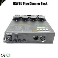 Controlador dmx de 4 canais da matrix, controlador traseiro com dimmer de 1kw para luminárias de palco