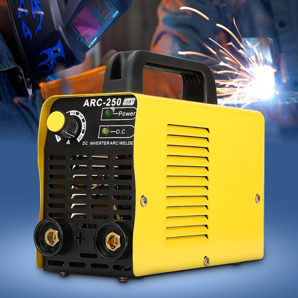 Portable Ac 110v 220v Electric Welding Machine Welder Argon 250 Arc 110v220v Dual Soldering Tools On Wiring Arc250 2p Voltage 20 160a Dc Digital Inverter