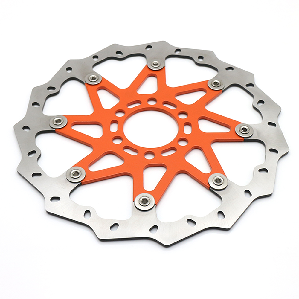 Motorcycle Replacement Floating Front Brake Disc Rotor Aluminum Brake Disk For KTM 125 200 390 ABS