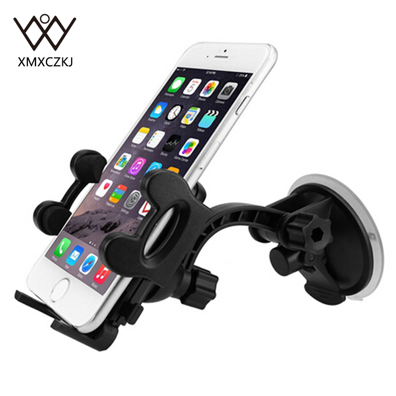 Universal <font><b>Car</b></font> Windshield Phone Holder <font><b>Mount</b></font> With <font><b>Large</b></font> <font><b>Suction</b></font> <font><b>Cup</b></font> For iPhone 5 5s 6 6 Plus For Samsung Note 4 S5 S6