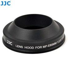 JJC LH E65 עדשת הוד עבור CANON עדשת MP E 65mm f/2.8 1 5x Macro מחליף CANON MP E65 מצלמה אבזרים