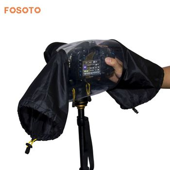 цена на fosoto Photo Professional Digital SLR Camera Cover Waterproof Rainproof Rain Soft bag for Canon Nikon Pendax Sony DSLR Cameras
