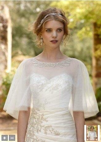 2017 бесплатная доставка марли платье, покрытый кружевной воротник стиль свадебного платья размер 10 шаль свадебные аксессуары
