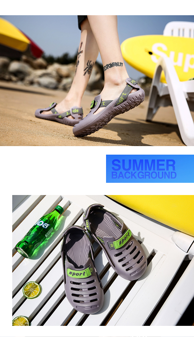 HTB15aTzbffsK1RjSszbq6AqBXXaA - HKIMDL Men's Summer Shoes Sandals New Breathable Men Slippers Lighted Casual Shoes Outdoor Slip On Comfort Small size