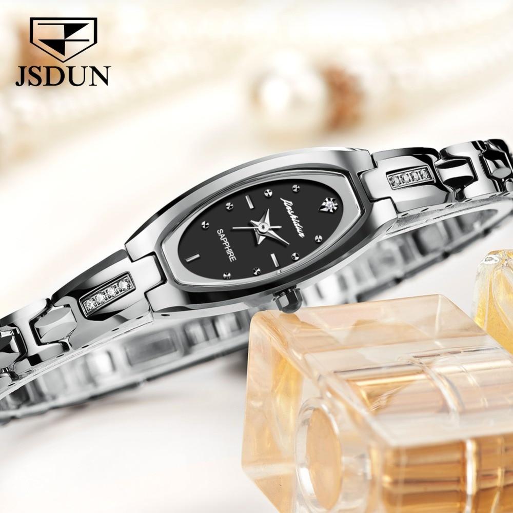 JSDUN Women Watches Women Fashion Watch 2019 Geneva Designer Ladies Watch Luxury Brand Diamond Quartz Wrist Watch Gifts Women
