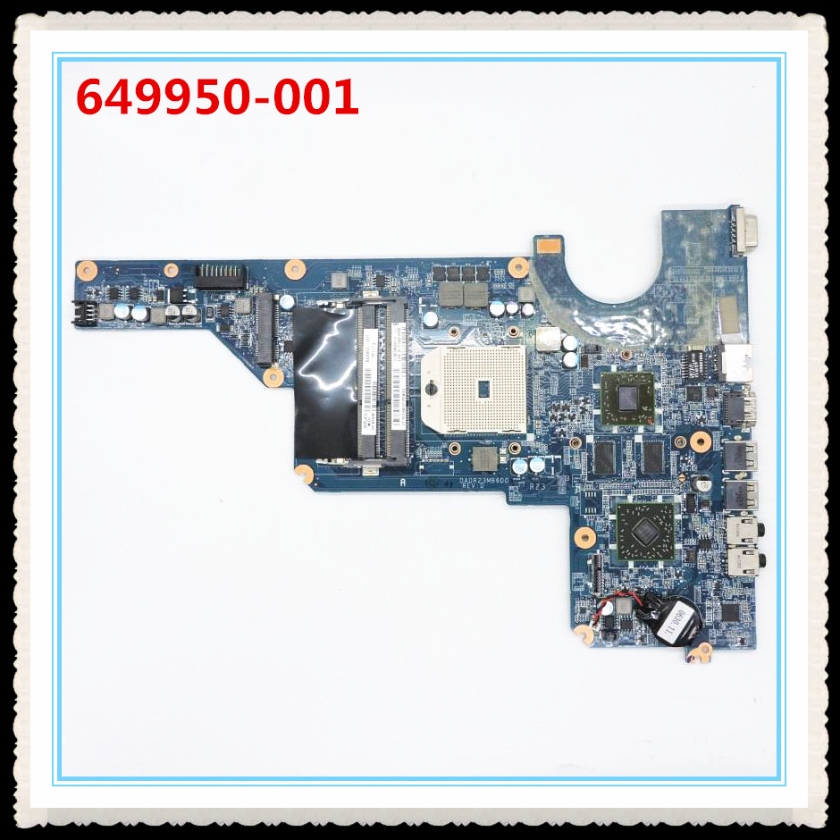 649950-001 fit For Pavilion G7 G6 G4 serise motherboard DA0R23MB6D1 laptop motherboard,100% Tested 60 days warranty haoshideng 649950 001 r23 da0r23mb6d1 for hp pavilion g4 g6 g7 g4 1100ax g6 1300ax motherboard with hd6470 1g fully tested