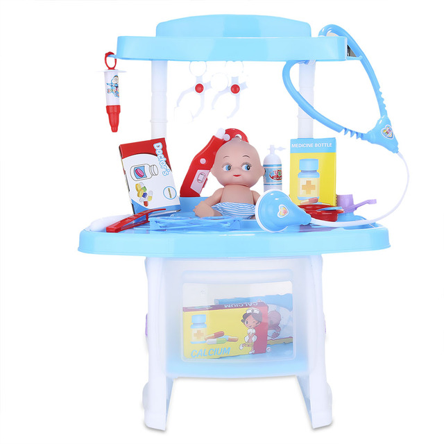Child Luxury Pretend Play Doctor Toys Simulation Tools Kit Toy Birthday Present