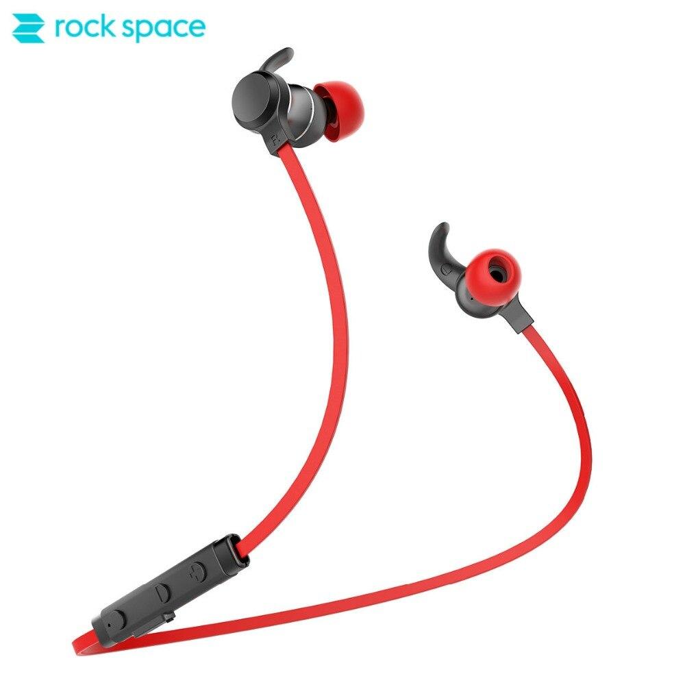 Rockspace Muvia SE Cuffie Bluetooth con Il Mic Impermeabile Senza Fili Della Cuffia di Sport Bass Bluetooth del Trasduttore Auricolare per il telefono iphone
