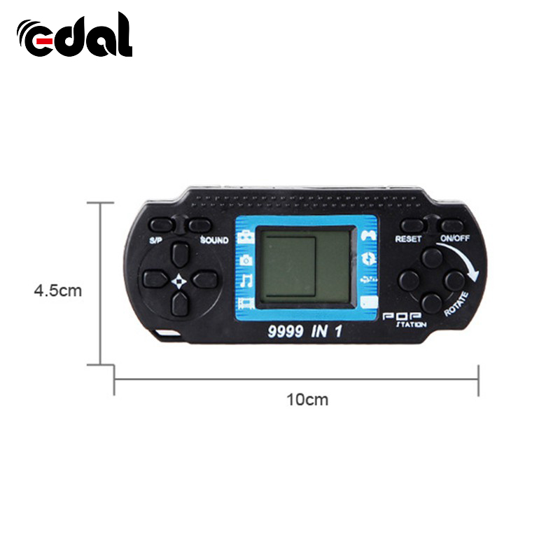 EDAL Portable Childrens Handheld Game Players Tetris Kids Handheld Video Game Console Hand-held Gaming Device For PSP
