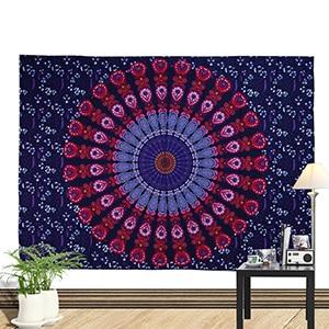 Sommer strand håndklæde stor mediter trykt flora væg hængende - Hjem tekstil - Foto 6