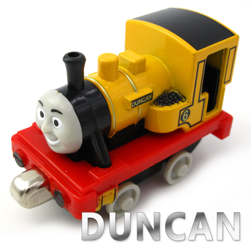 Diecasts Vehicles Thomas T046D DUNCA Thomas And Friends Magnetic Tomas Truck Car Locomotive Engine Railway Train Toys for Boys