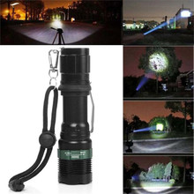 HOT bicycle light 3000 Lumen Zoomable XM-L Q5 LED Flashlight Torch Zoom Super Bright Light NEW august30