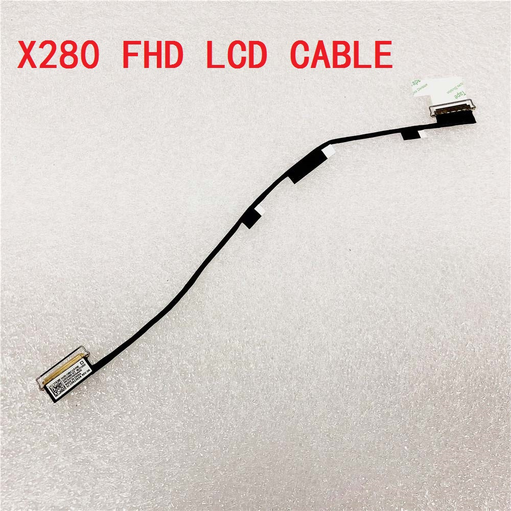 Original Laptop LCD LED HD FHD Cable for Lenovo Thinkpad X280 Genuine Notebook X280 LCD LED Line