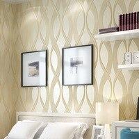 3d不織布フロッキング肥厚の環境保護壁紙リビングルームの寝室のテレビの背景壁