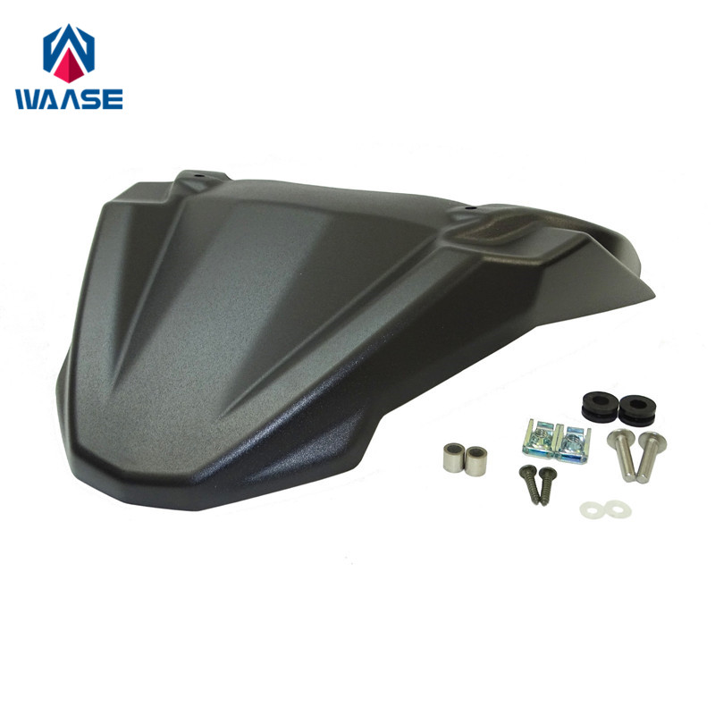 waase MT09 Front Wheel Fender Beak Nose Cone Extension Cover Extender Cowl For Yamaha MT-09 MT09 Tracer FJ-09 2015 2016 2017