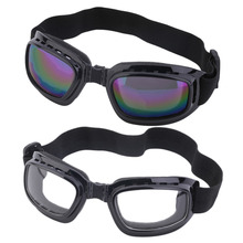 Unisex Safety Goggles Foldable Anti Glare Polarized Windproof Anti Fog Sun Protective Adjustable Strap Glasses
