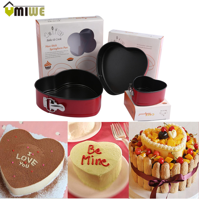 Aliexpress.com : Buy Heart Shape Non Stick Slipknot Cake Baking ...