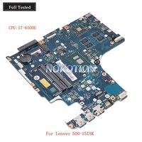 Nokotion AIWZ2 AIWZ3 LA C851P 5B20K34642 For Lenovo 500 15ISK Laptop Motherboard SR2EZ I7 6500U Radeon R7 M360