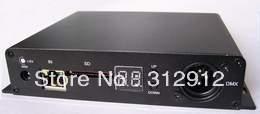 LED pixel verlichting controller, 8 poorten uitgang (op line/off line/wifi/timing/DMX/vijf in een)