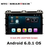 SMARTECH 2 Din Car Radio GPS Navigation For TOYOTA Land Cruiser Prado 120 2004 2009 Android