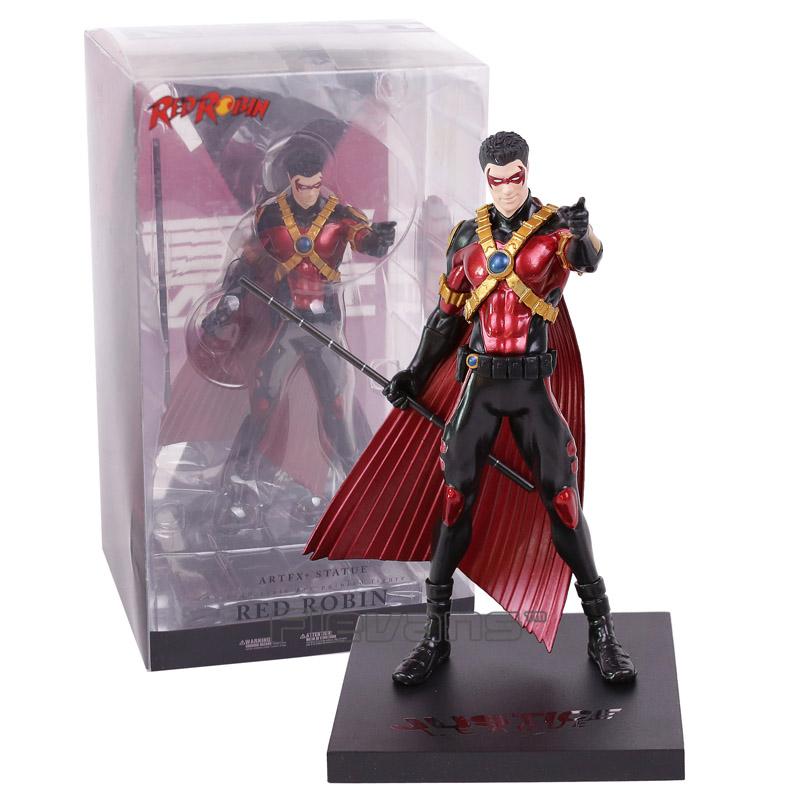 ARTFX + STATUE DC Super hero Red Robin 1/10 Scale Pre-Painted Figure Collectible Model Toy artfx statue dc super hero red robin 1 10 scale pre painted figure collectible model toy