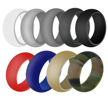 High Quality Jewelry Cheap Men Safe and Durable Silicone Rubber Wedding Band Ring for Jewelry Gifts Rings high quality china jewelry wholesaler offer all kinds of custom titanium wedding band rings cheap price