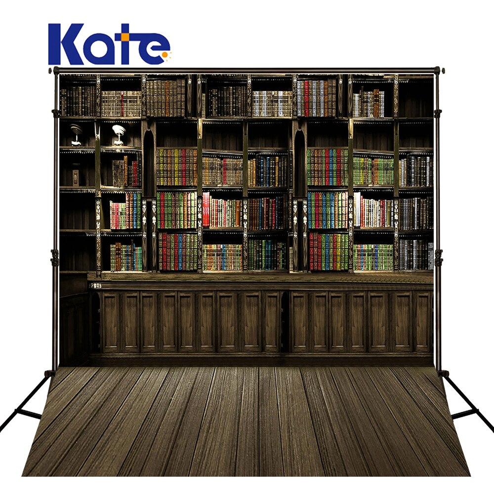 Kate bibliothèque nouveau-né photographie accessoires Fundo livre étagères Lockers3D bébé microfibre photographie toile de fond Lk 2082
