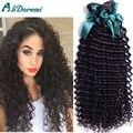 Brasileiro curly virgin cabelo tece 4 bundles não transformados virgem cabelo brasileiro onda profunda cabelo encaracolado brasileiro virgem barato