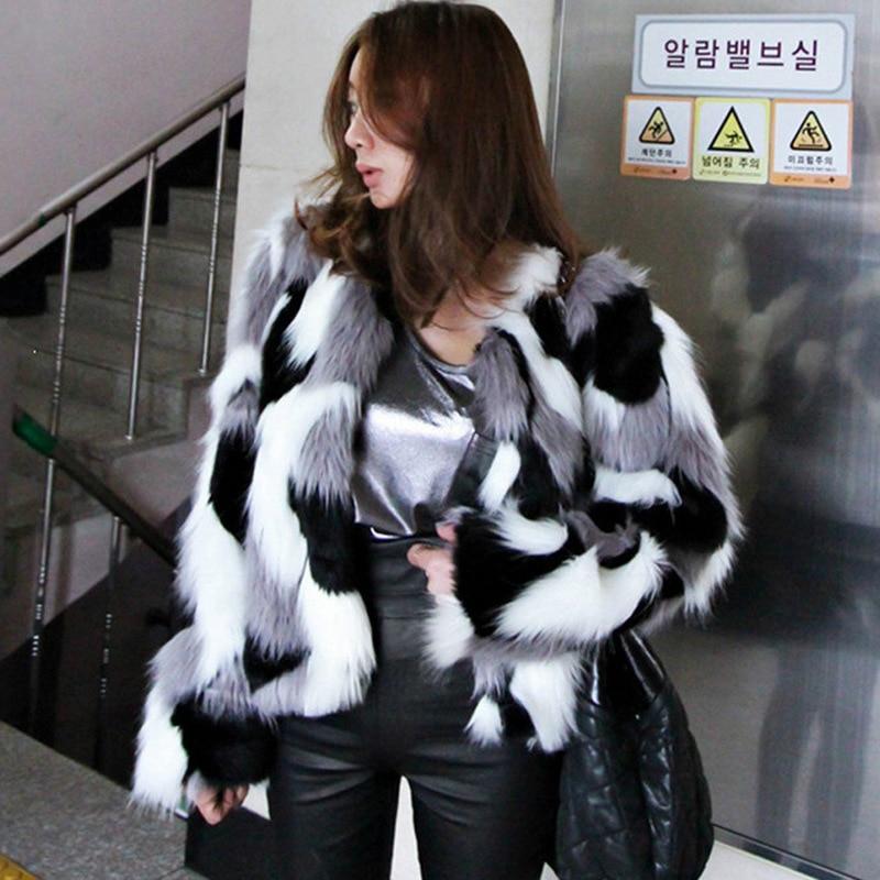 Femmes Automne Le Comme Peau Multi Fox Fourrure Et Nouvelle D'hiver coréen Hai Manteau Entière Version Vêtements De La L'ensemble 2018 Yq8qngxwF