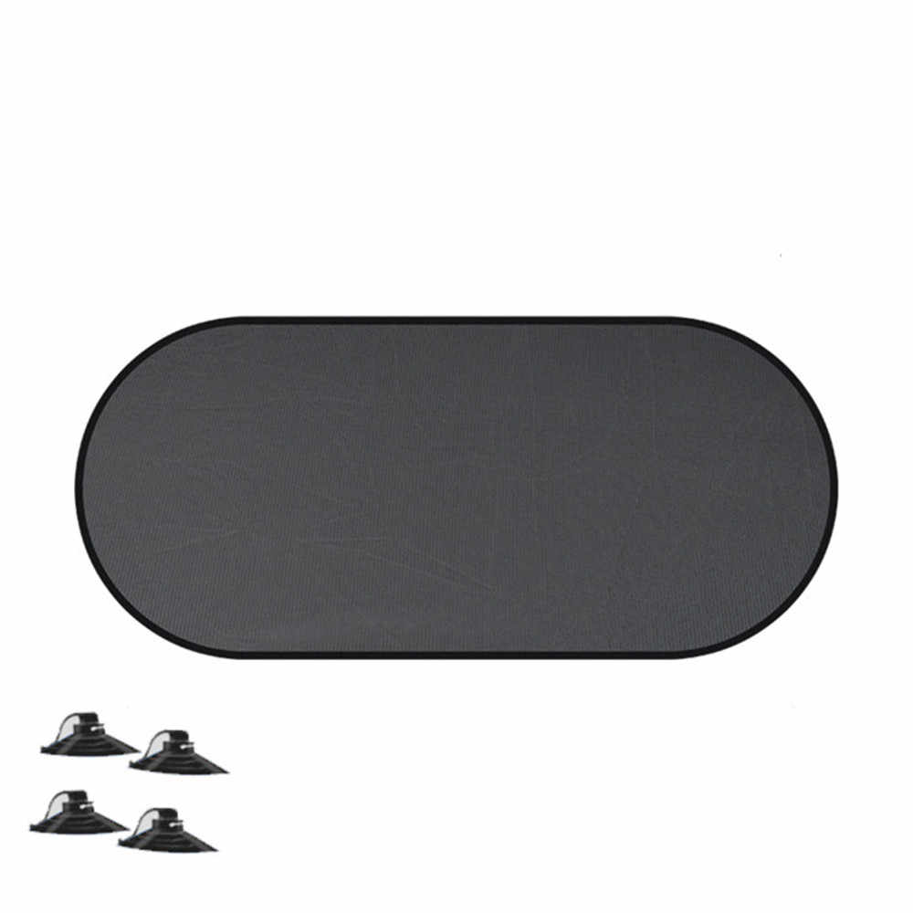 Car Window Sunshade 1Pcs Car Rear Window Windshield Sun Shade Cover Block Static Cling Visor Shield Sun Shade Parasol Coche