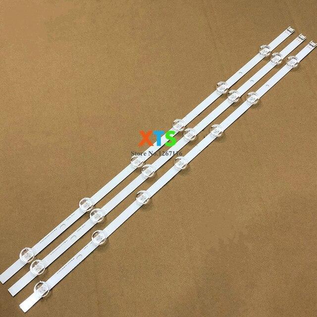 새로운 1 set = 3 pcs 6/7 leds 590mm led 백라이트 스트립 교체 lg 32ln5100 32ln545b innotek pola2.0 32 인치 a b 타입 hc320dxn